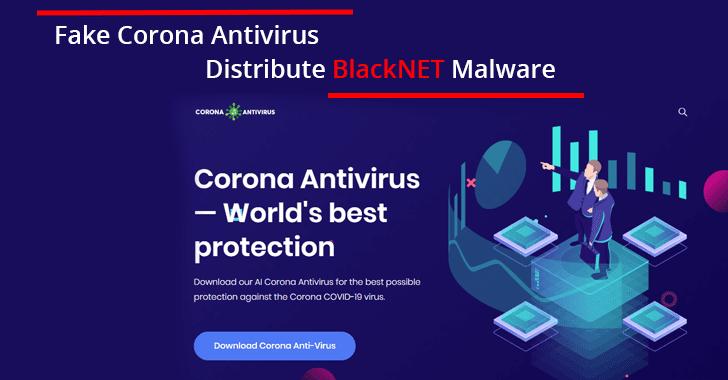 Fake Corona Antivirus