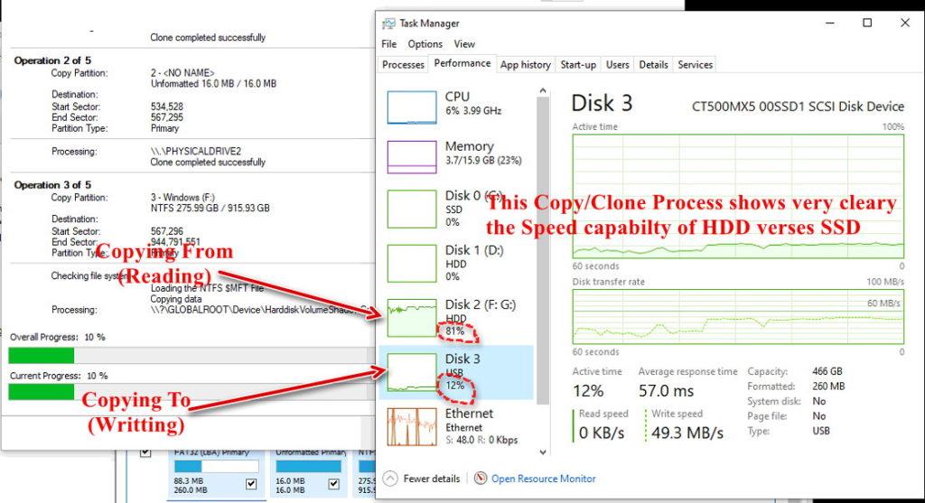 HDD verses SATA SSD